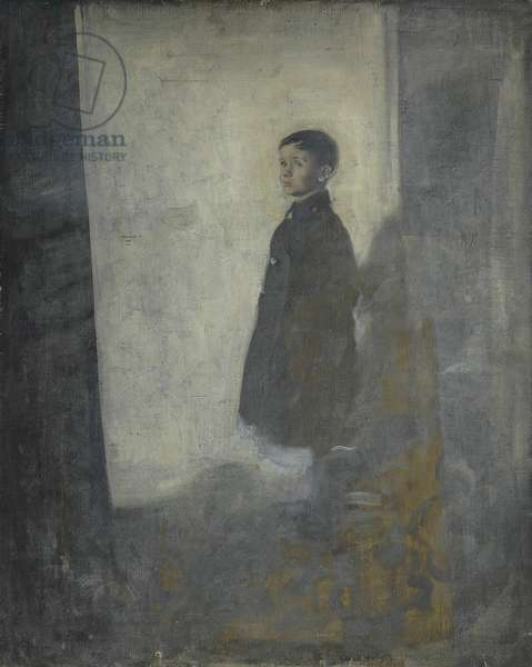 Ben Nicholson as a Child of Six or Seven Years, 1901 (oil on canvas)