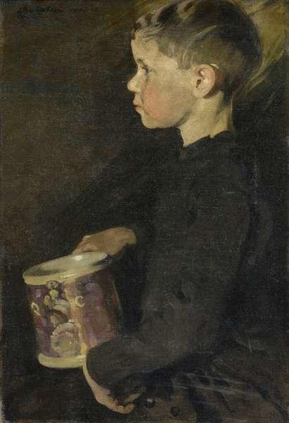 The Boy with the Caroline Mug, 1901 (oil on canvas)