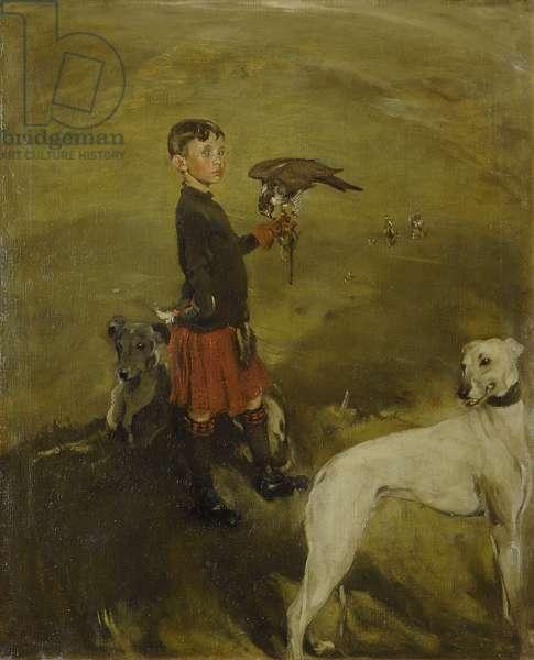 Hawking, 1902 (oil on canvas)