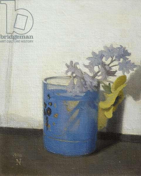 The Fluorescent Glass, 1910 (oil on canvas board)
