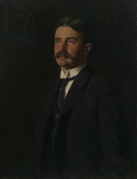 Lord Peel, 1915 (oil on canvas)