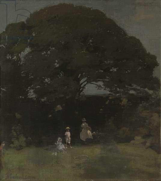 The Oak Tree, 1905 (oil on canvas)