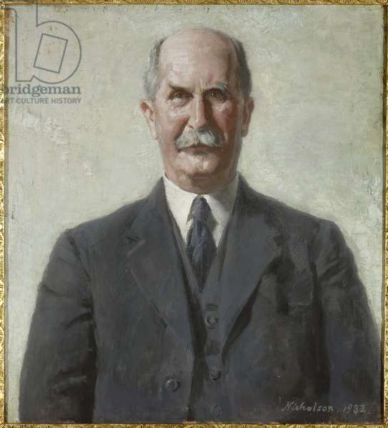 Sir William Bragg, 1932 (oil on canvas)