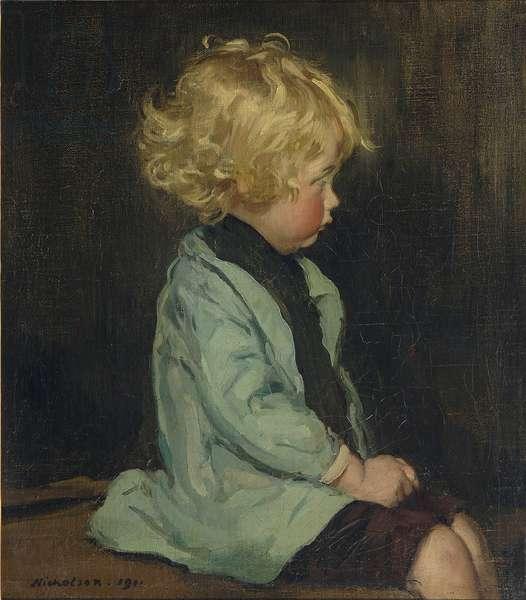 Boy in a Green Coat, Caspar, 1911 (oil on canvas)