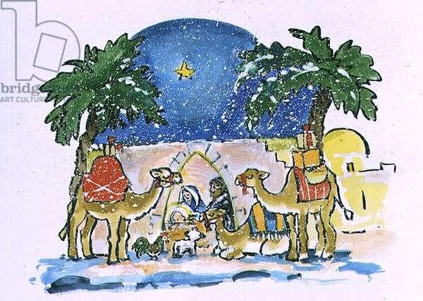 Nativity, 1996 (w/c)