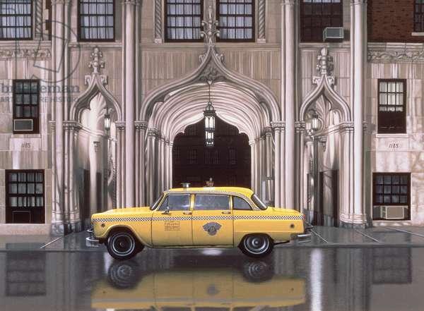 1185 Park Avenue, 1988 (oil on panel)