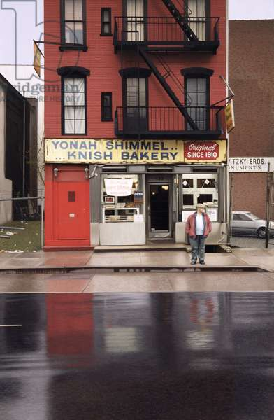 Yonah Schimmel's Knish Bakery, 1993 (oil on panel)