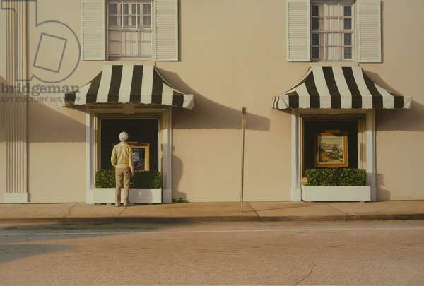 My Father in Palm Beach, 2003 (oil on canvas)