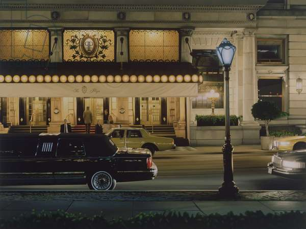 Plaza I, 1996 (oil on panel)