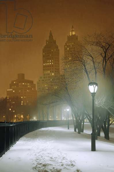 New York Nocturne, 2004 (oil on canvas)