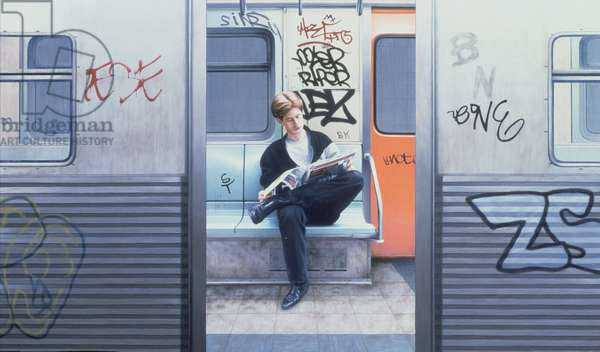 Take the A Train, 1983 (oil on panel)