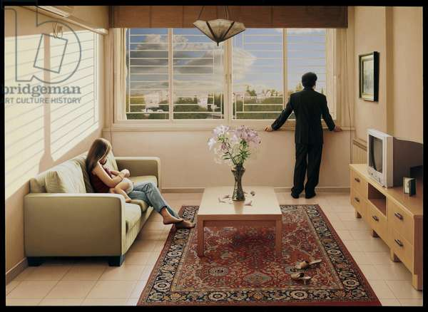 Interiors, 2009 (oil on panel)