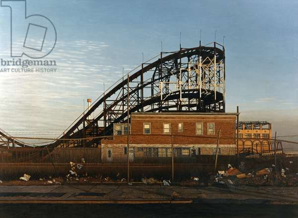 Coney Island Thunderbolt, 1990 (oil on canvas) (photo)