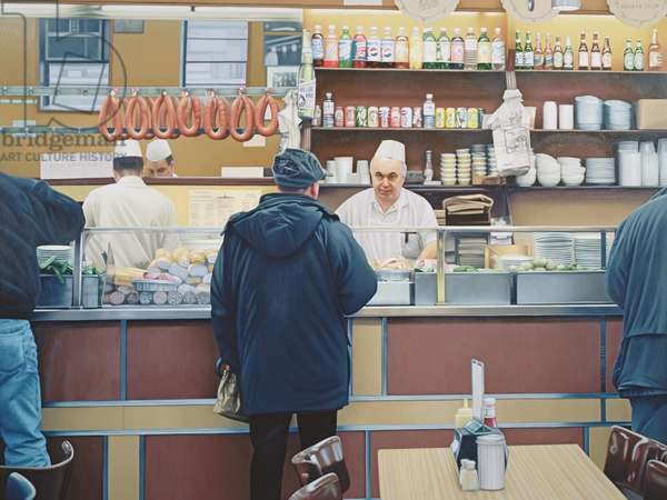 Katz's II, 1998 (oil on panel)