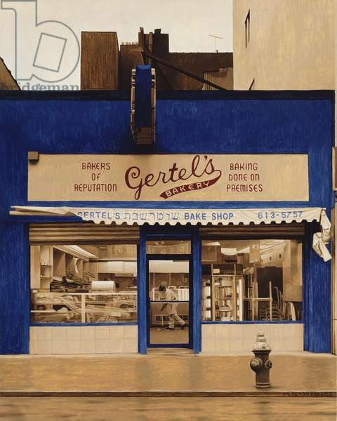 Gertel's, 1996 (oil on panel)