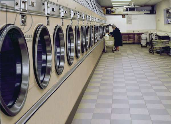 Laundromat, 2006 (oil on canvas)
