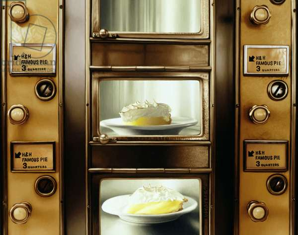 The Last Automat III, 2003 (oil on panel)