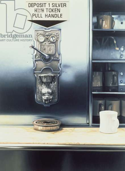 The Last Automat I, 1983 (oil on panel) (see also 138483)