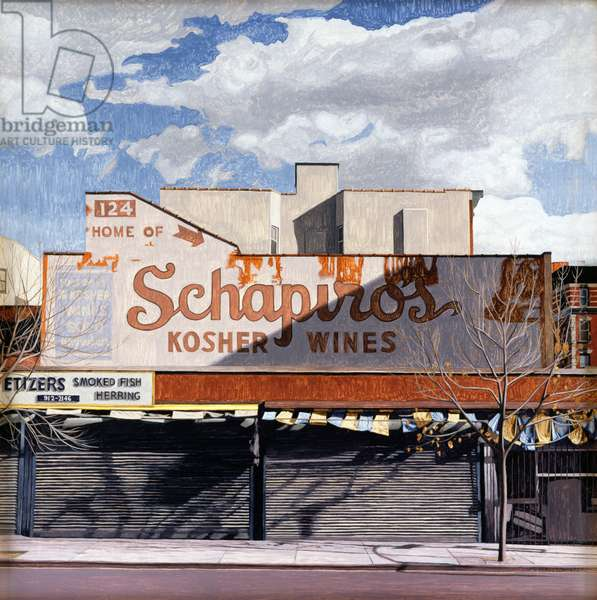 Schapiro's, 1996 (oil on panel)