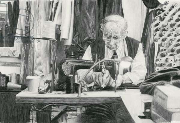 Tailor, 2003 (pencil on paper)