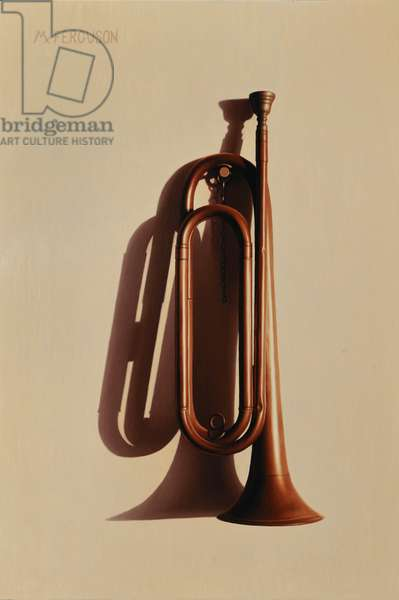 Bugle, 2021 (oil on panel)