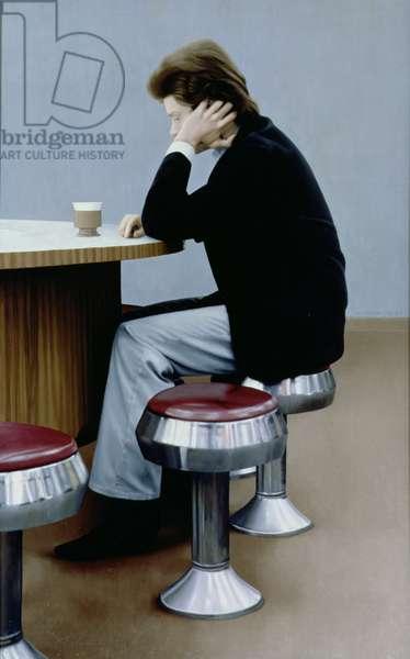 Coffee Shop, 1982 (oil on panel)
