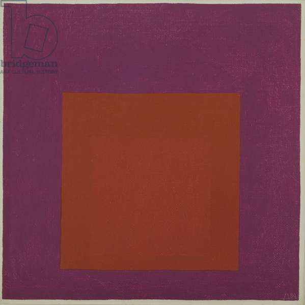 Homage to the Square, 1964 (oil on masonite)