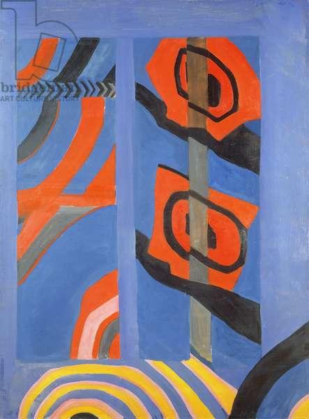Gershwin, 1961 (oil on board)