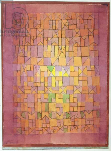 Tapestry, 1923 (crayon & w/c on paper)