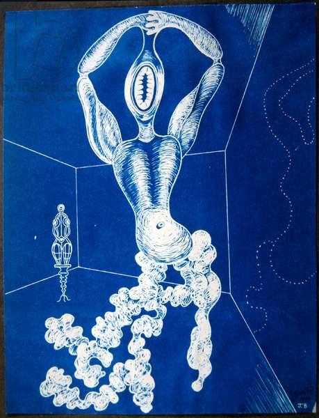 The Dancer, 1932 (blueprint)