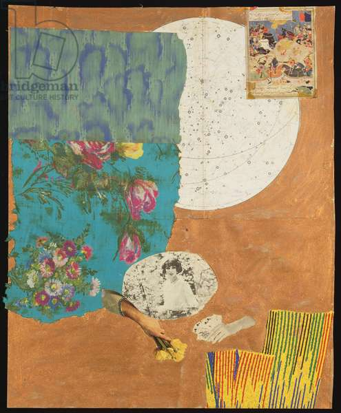 Untitled, c.1961-62 (mixed media and collage)