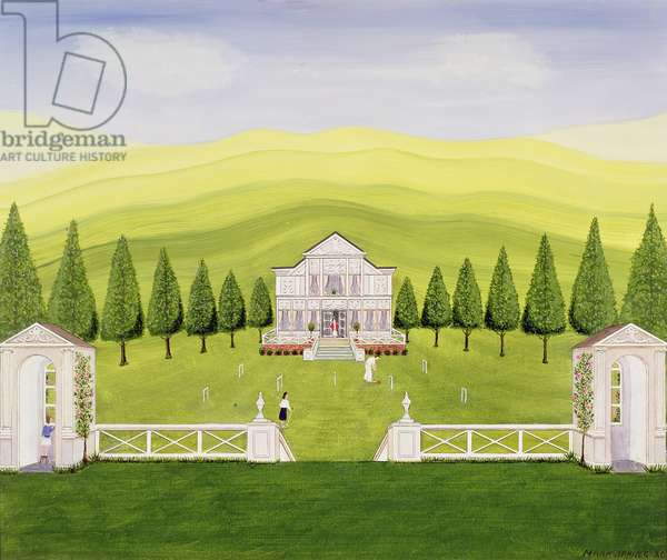The Croquet Lawn