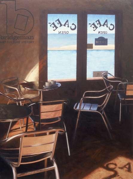 Poolside café