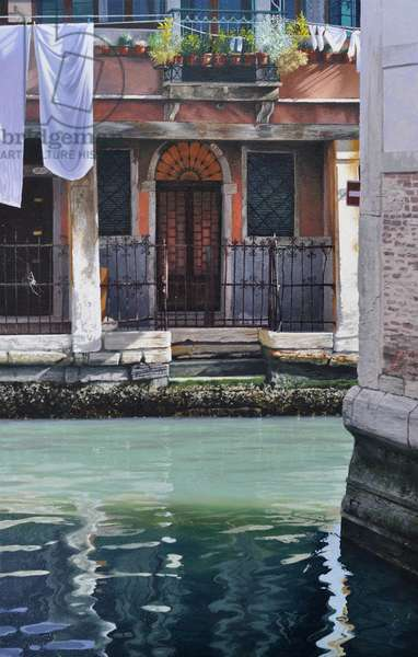 Early Morning Venice, 2019 (oil on panel)