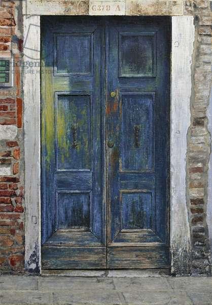 Venetian Door, 2019 (oil on linen)