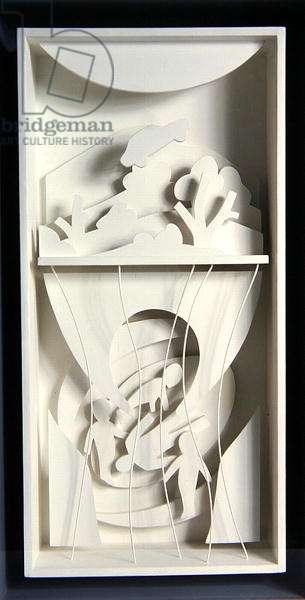 Abduction (MDF, plywood & acrylic)