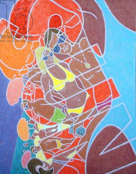 Sun, 1989 (oil on canvas)