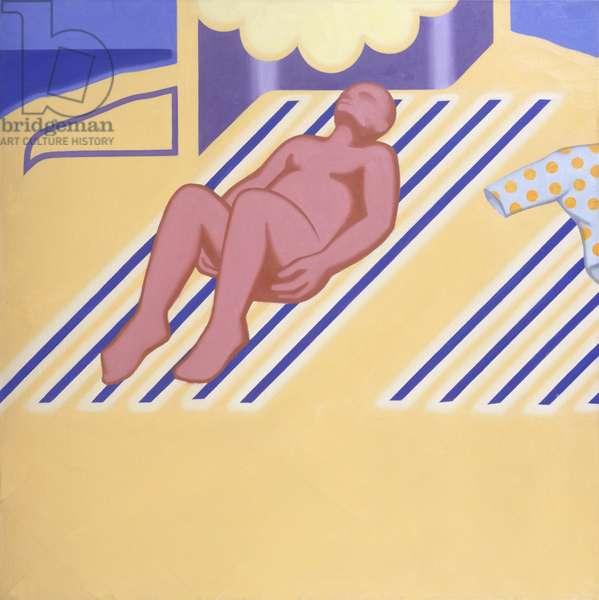 Sun Worship, 1966  (oil on canvas)