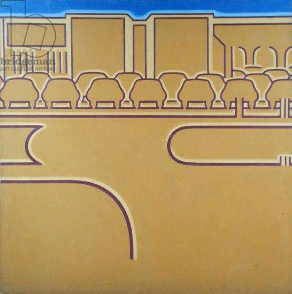 Car Park, 1966 (oil on canvas)
