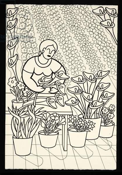 a florist