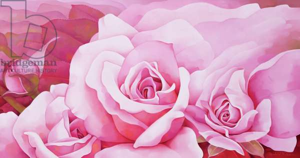 The Roses, 2003 (oil on canvas)