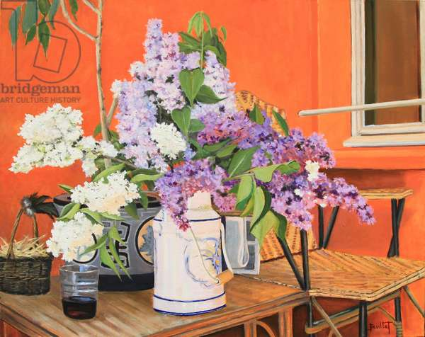Les Lilas, 2013 (oil on canvas)