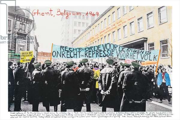 Bélgica, 1968, 2014-18 (ink pigment print on Hahnemühle paper)