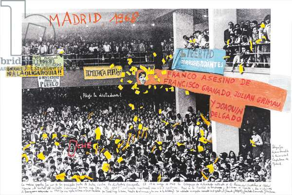 Madrid, 1968, 2014-18 (ink pigment print on Hahnemühle paper)