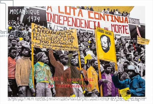 Mozambique, 1974, 2018 (inkjet print on Hahnemühle paper)