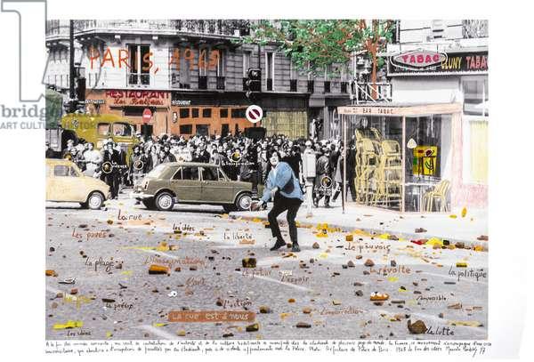 Paris, las Piedras, 1968, 2014-18 (ink pigment print on Hahnemühle paper)