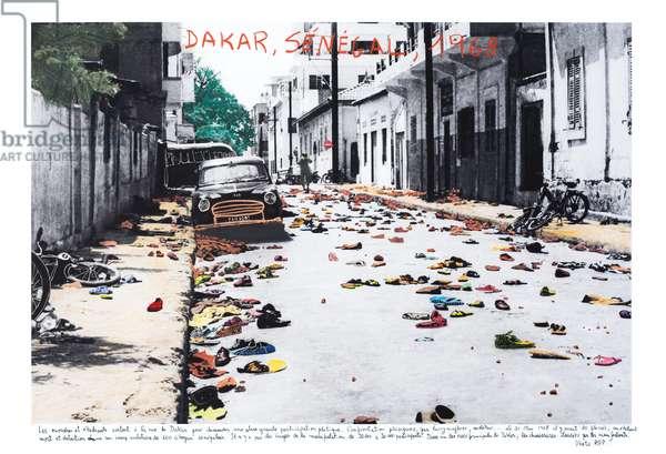 Dakar, Sénégal, 2018 (inkjet print on Hahnemühle paper)