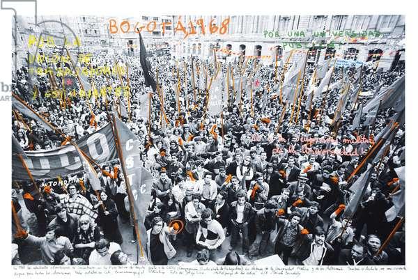 Bogotá, 1968, 2014-18 (ink pigment print on Hahnemühle paper)