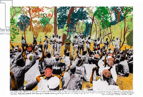 Guiné Bissau, 1973, 2018 (inkjet print on Hahnemühle paper)