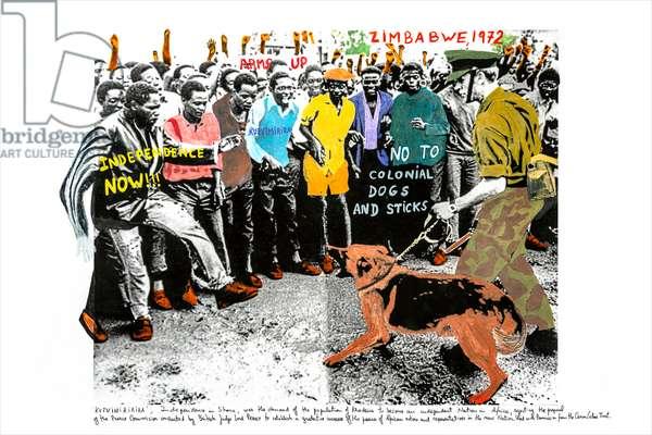 Zimbabwe, 1972, 2018 (inkjet print on Hahnemühle paper)